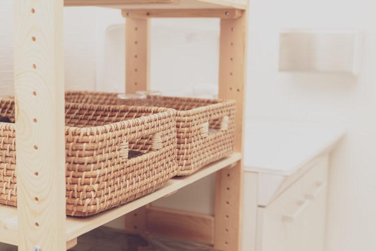 貸別荘・コテージの洗面所